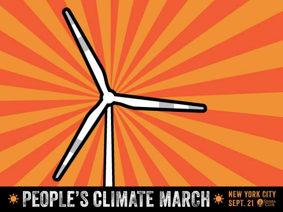 PEOPLE'S CLIMATE MARCH: Saturday . . .